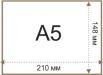 """Файл для документов А5 Economix, 30 мкм, фактура """"апельсин"""" (100 шт / уп) logo"""